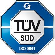Vlastníme certifikát ISO 9001